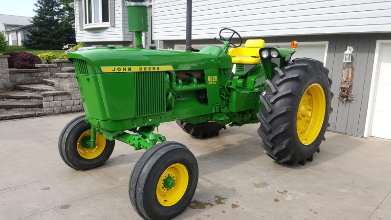 tractor restoration after